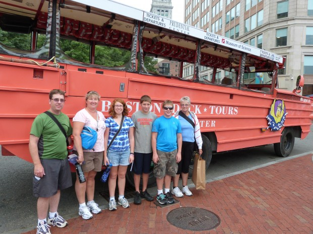 Duck Tour, Boston